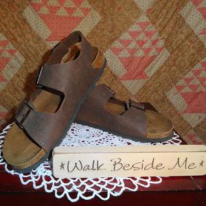Men's Birkenstock sandals in size 10